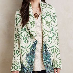 Anthropologie Sugarpine Sweater Coat by Moth NWT